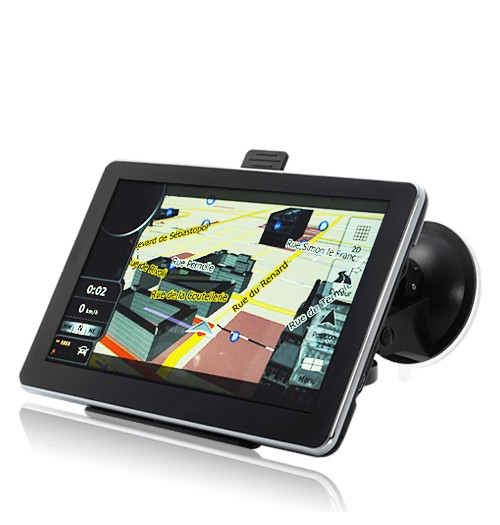 GPS C/ Tela de 7 Touchscreen Bluetooth 4GB