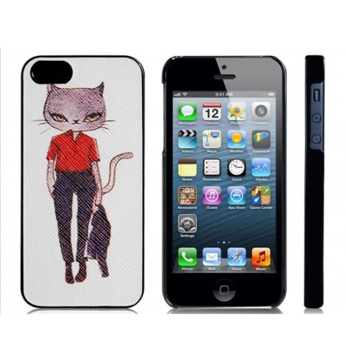 Capa Gato com Uniforme para Iphone 5