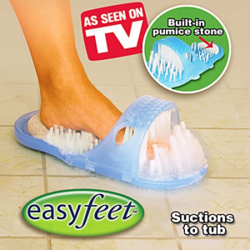 Easy Feet - Limpador e massageador de pés e calcanhares